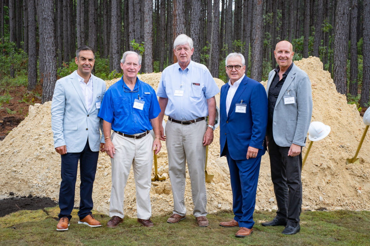 Sharbell Development Corp. Celebrates the Formal Groundbreaking of Downtown Nexton
